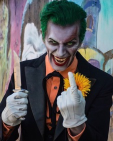 Geffrey Riot as Zombie Joker